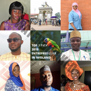 Top 7 Pick Entrepreneurs of the Year 2019 in Iwoland