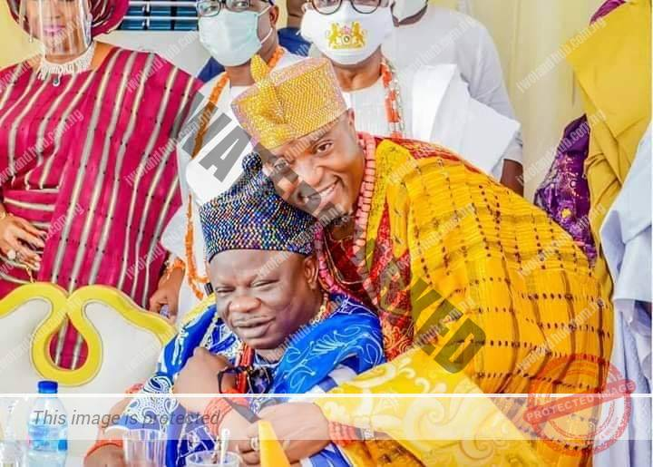 Brotherly love between Oluwo and Olofa