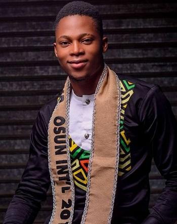 Meet Ayomide Emmanuel Olowoporoku: Mr Osun Int'l 2018/19