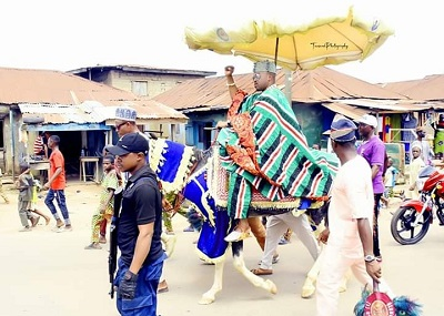 A Tour of Inspection/ Familiarization By Oluwo of Iwo Land