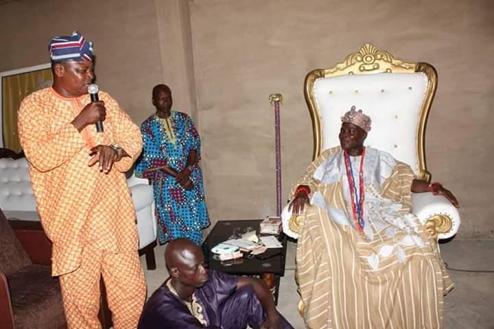 Hon Amobi and Olowu of Kuta Kingdom