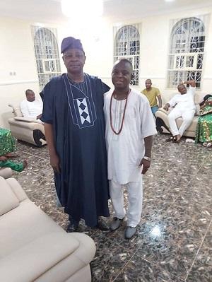 Chieftaincy Title: Amobi Congratulate Sarafa Babalola, Commend Olupo of Oluponna