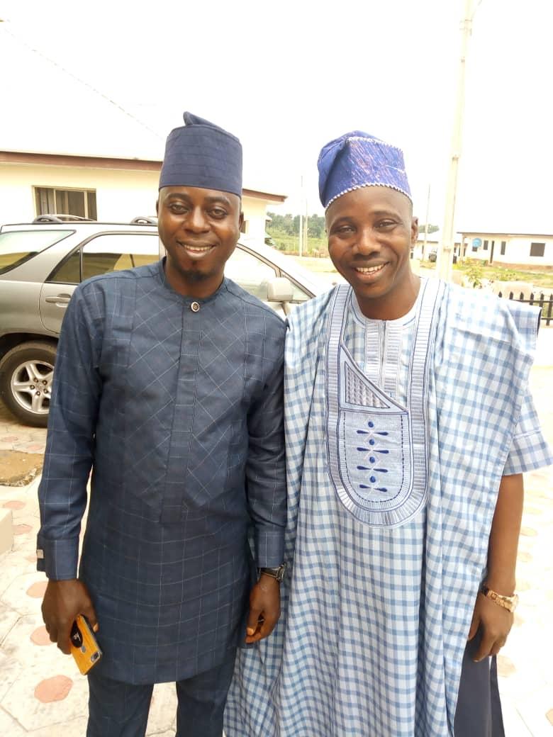 Hon Uzamot Halil and Hon Adirulahi Abefe