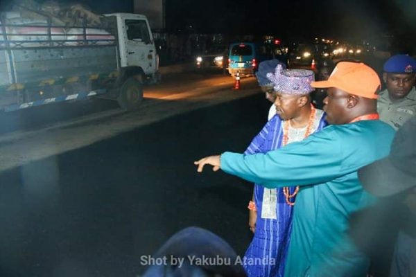 Osogbo-Iwo Road Rehabilitation: Oluwo Applauds Osun Government, Omowaiye For Intervention