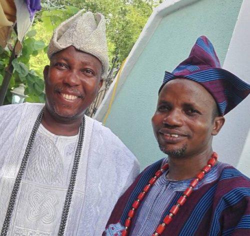 Asiwaju-Odo of Iwoland Felicitates with Onikoyi of Ikoyi on Installation of Chiefs and Princes