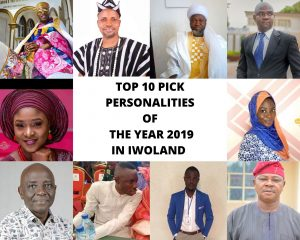 Top 10 Pick Personalities of the Year 2019 in Iwoland