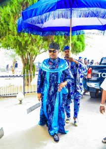 My Intent in Defending the Helpless Poor Will Judge me - Oluwo of Iwoland