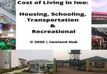 Cost of Living in Iwo: Housing, Schooling, Transportation and Recreational