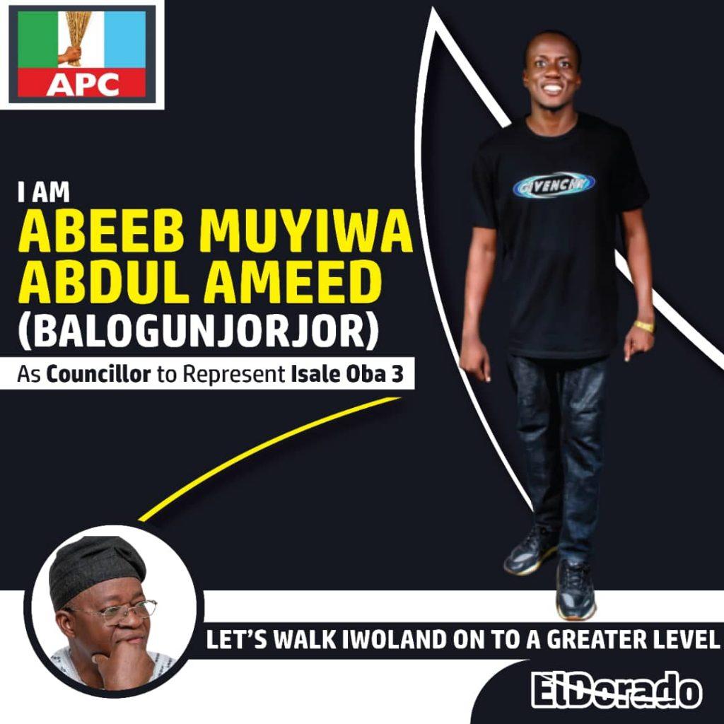 Balogun Jorjor Declares To Represent Iwo Most Populous Ward