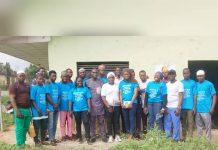 Ambassadors of Iwoland Partners HMB Foundation, Train Youths on Digital Skills