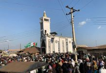 Sheikh Muydeen Bello, Aregbesola, Governor Oyetola Storm Iwo as Ta'awun Commissions an Ultra-Modern Mosque