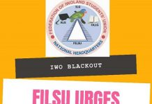 Iwo Power Outage Issue; FILSU Leadership Urges for Calm